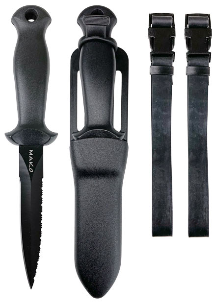 Kona Xtra Long Blade includes 2 straps with quick release buckles
